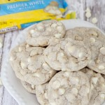 White Chocolate Macadamia nut cookie with Nestle white chocolate chips
