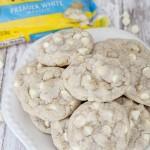 White Chocolate Macadamia nut cookie with Nestle white chocolate chips