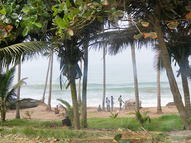 beach in cape coast ghana