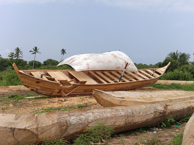 fishing boat in ghana
