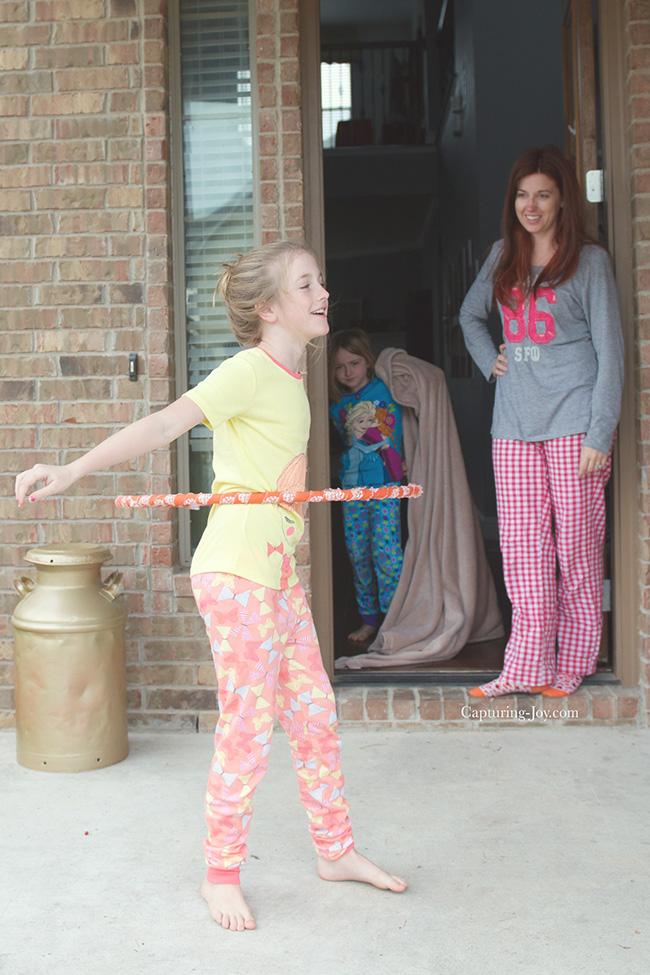 hoola hoop at home