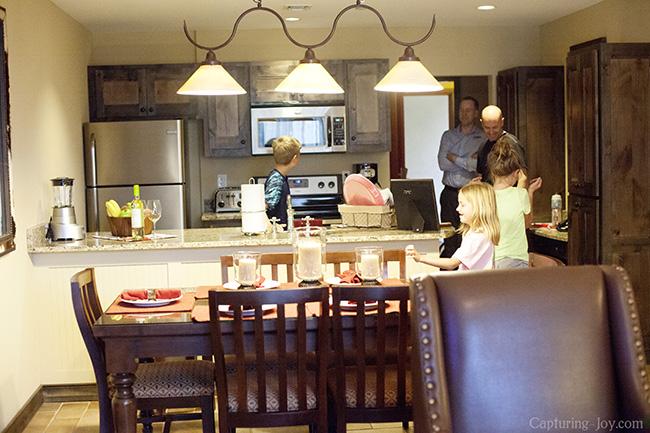 kitchen at hyatt residence club