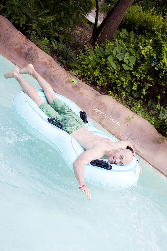 lazy river fun
