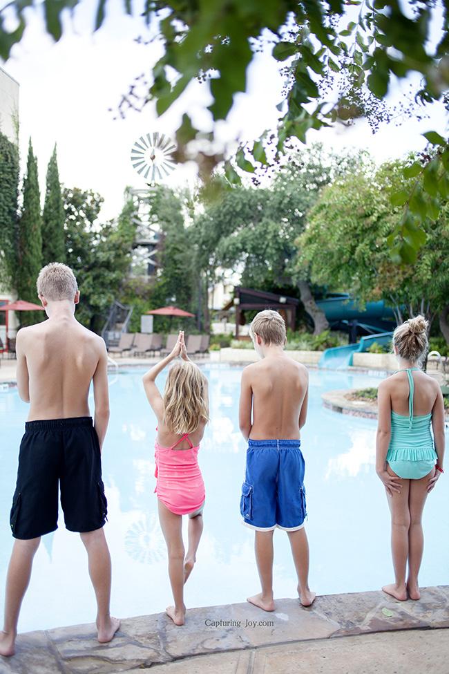 quiet pool at Hyatt Wild Oak Ranch