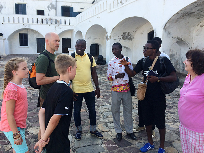 speaking french in cape coast