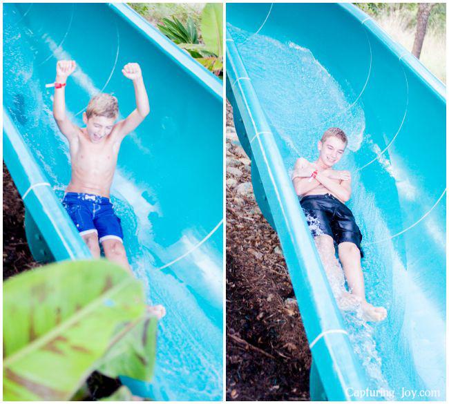 water slide in Texas