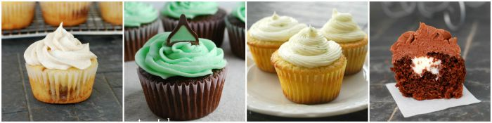 Cupcake recipes from Creations by Kara