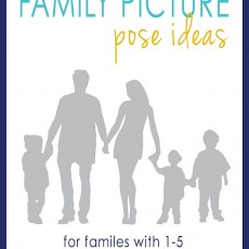 Family photography posing ideas