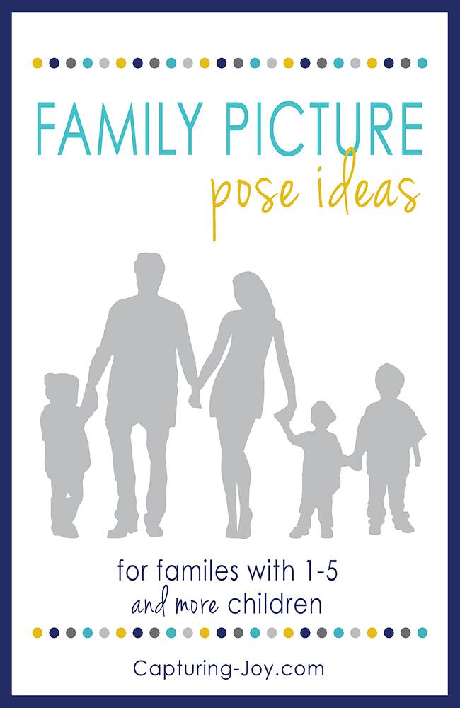 Family photography posing ideas