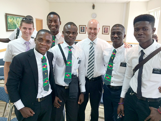 Ghana Accra West missionaries