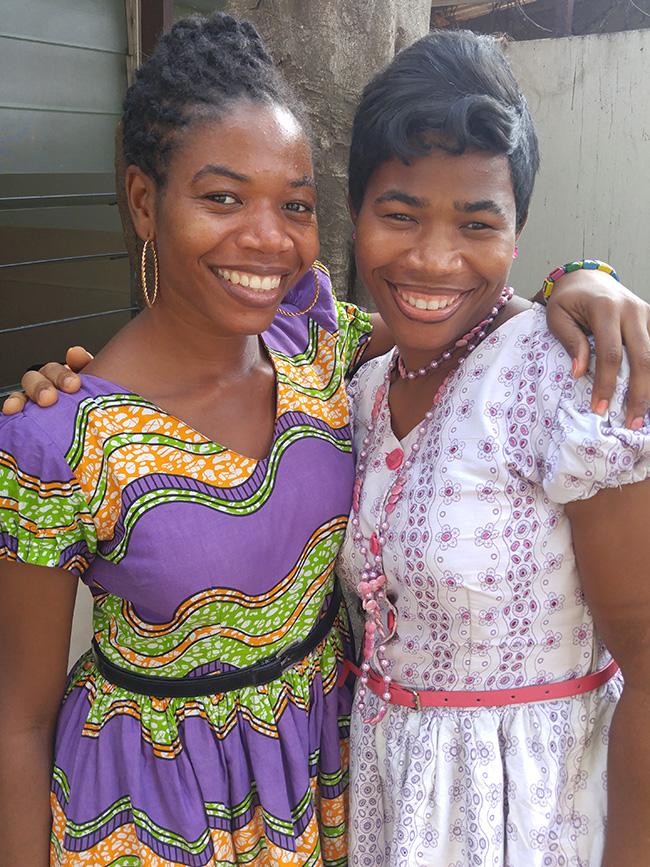 Ghanaian sisters