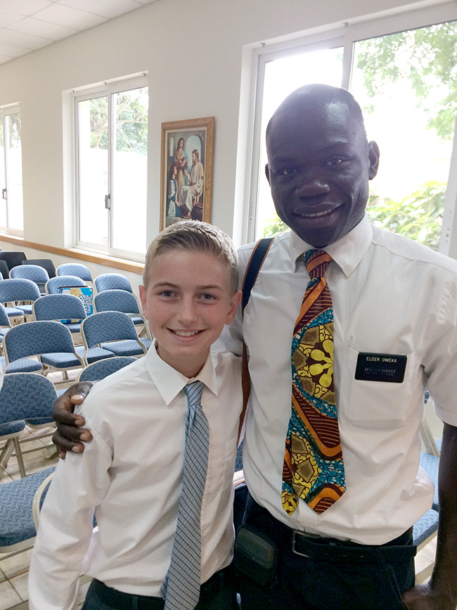 Kenyan missionary in Ghana
