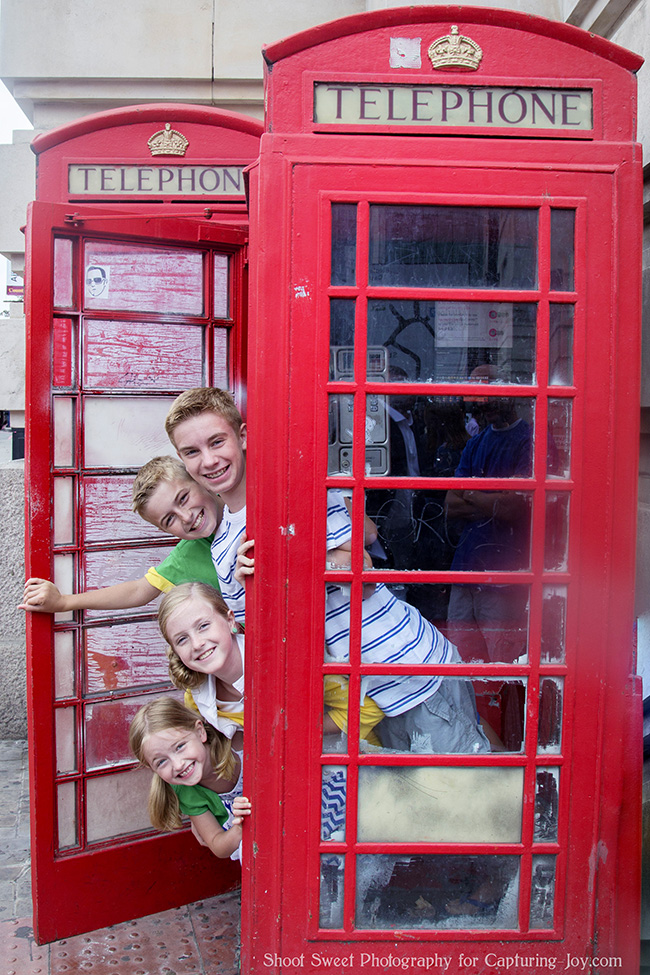 London red phone box