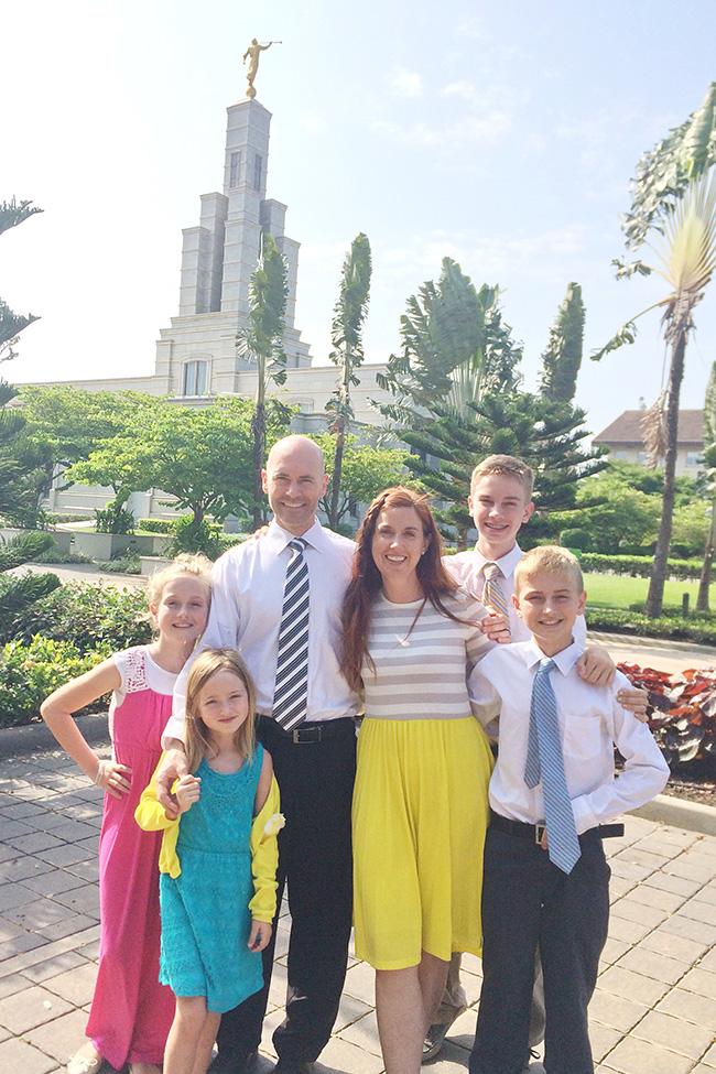 Mormon Temple in Ghana