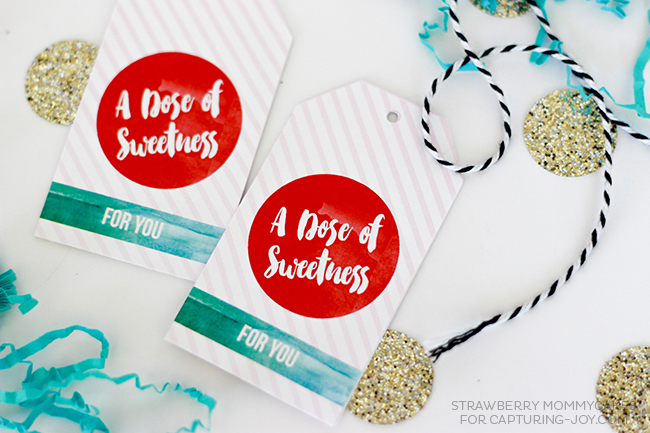 Make someone special a sweet treat with these Mug Cake Printable Gift Tags!