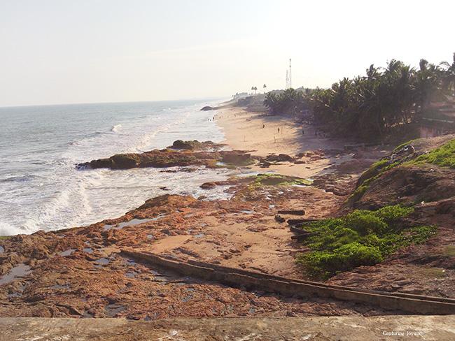 coastal beach in Ghana