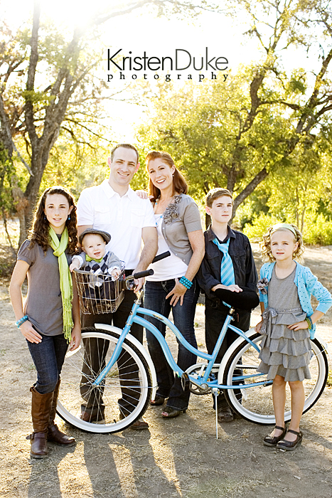 family pictures with bike