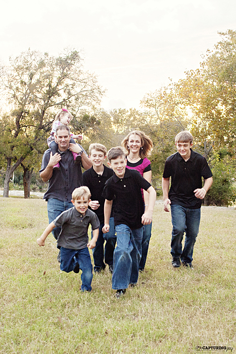 family running photos