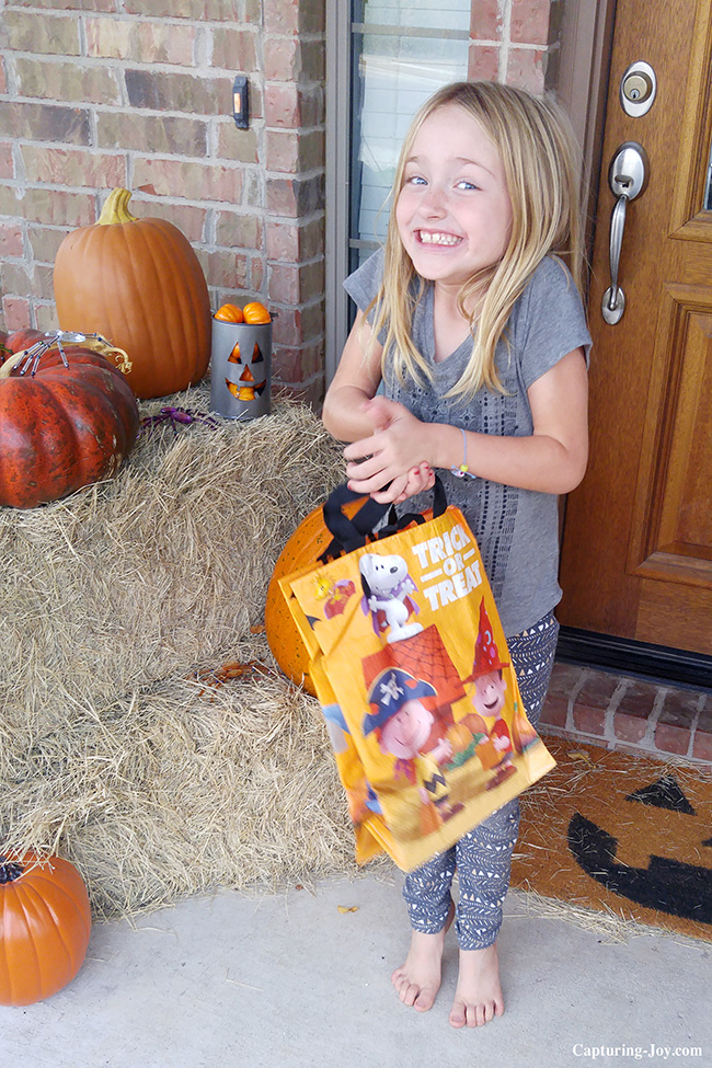 Albertsons Safeway Randalls trick or treat bag
