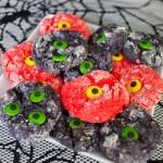Spooky Creepy Monster Cookies for halloween