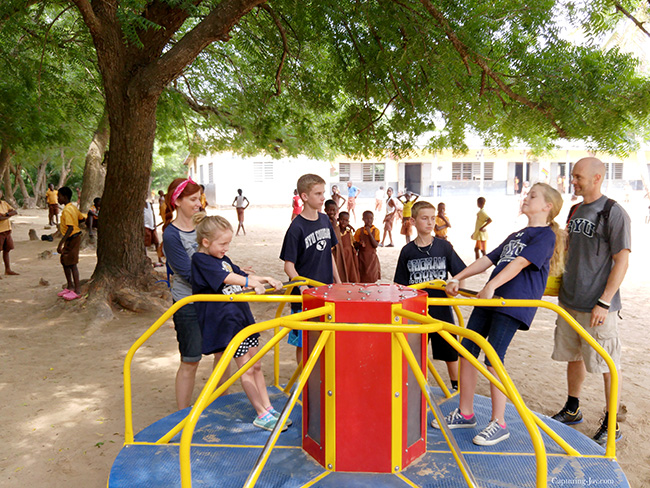 Empower Playground Merry Go Round