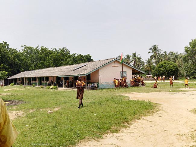 Ghana schoolyard