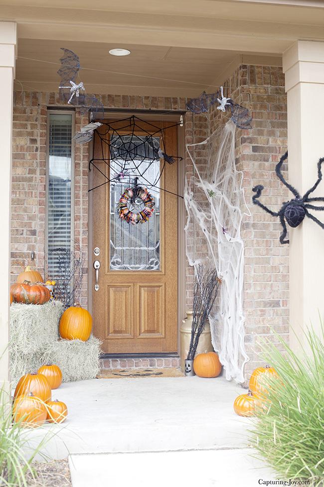 halloween porch - Halloween Front Porch Decorating Ideas