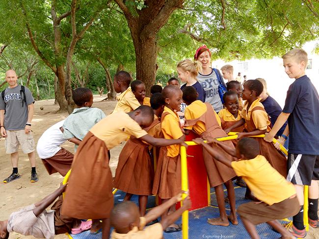 Merry Go Round in Ghana