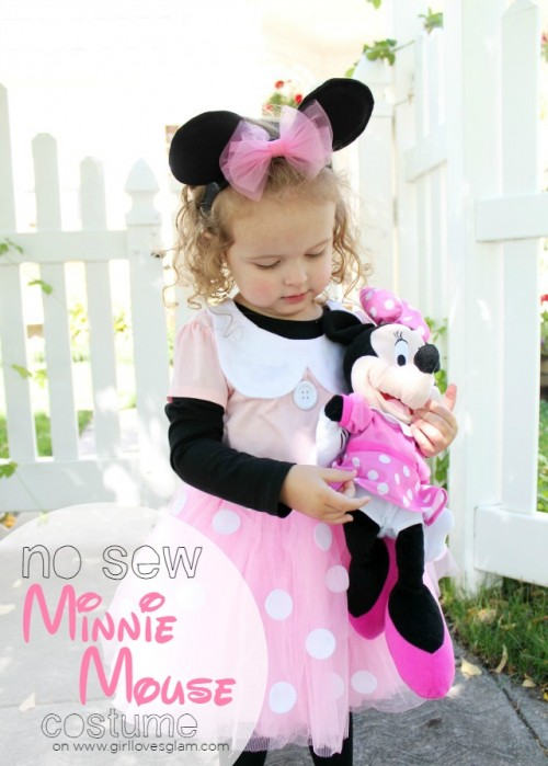 no sew minnie mouse costume