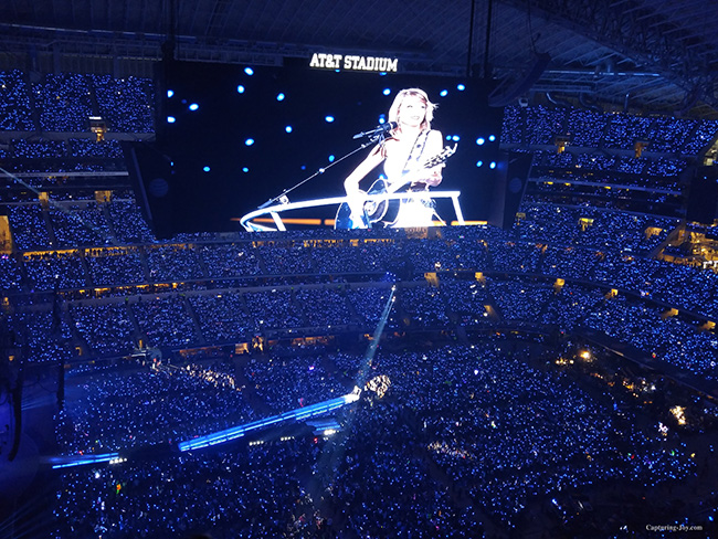 Taylor Swift singing Fifteen at World Tour Concert in Dallas