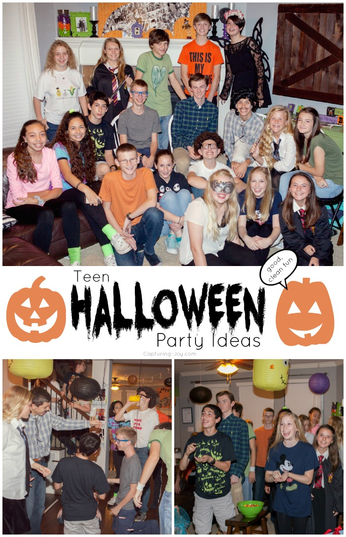 Teen halloween party ideas capturing joy with kristen duke for How to have a great halloween party