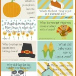 Thanksgiving Lunch Box Jokes