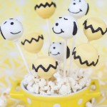 The Peanuts Movie Cake Pops