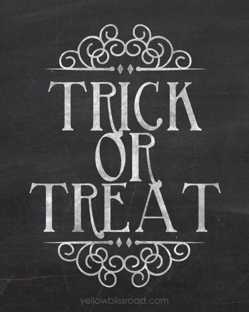 20 Halloween Printable Decorations - Capturing Joy with ...