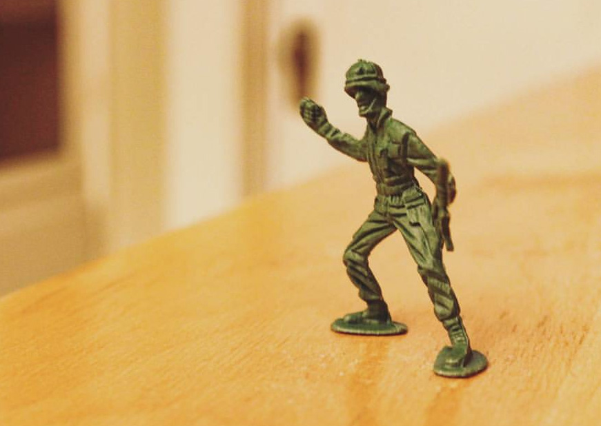 army guy for Austin Panic Room