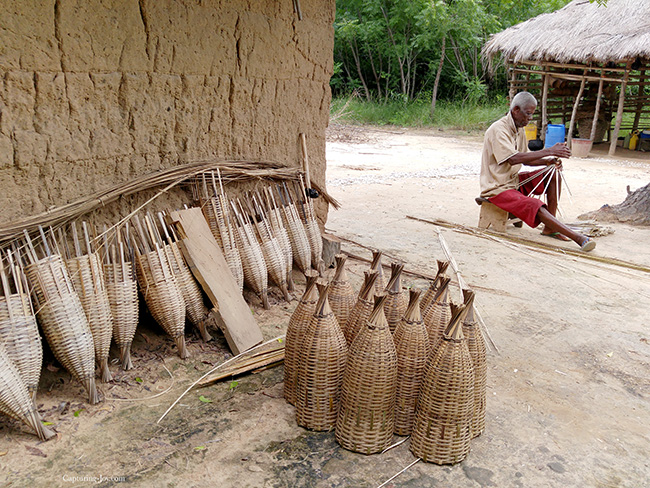 baskets in Ghana