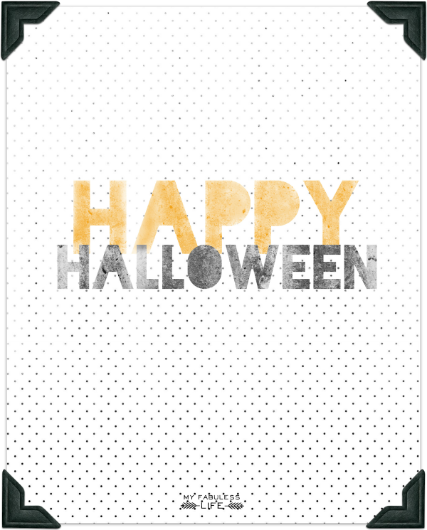picture relating to Halloween Printable Decorations identified as Printable Halloween Decorations Shooting Pleasure with Kristen