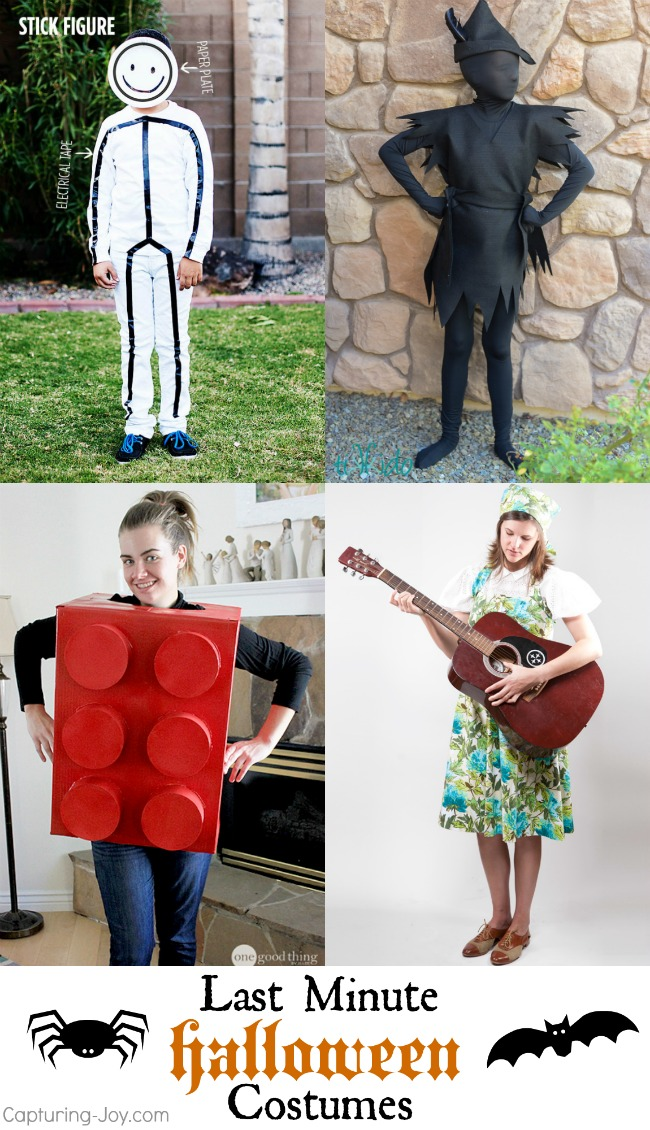 Last minute Halloween Costume Ideas