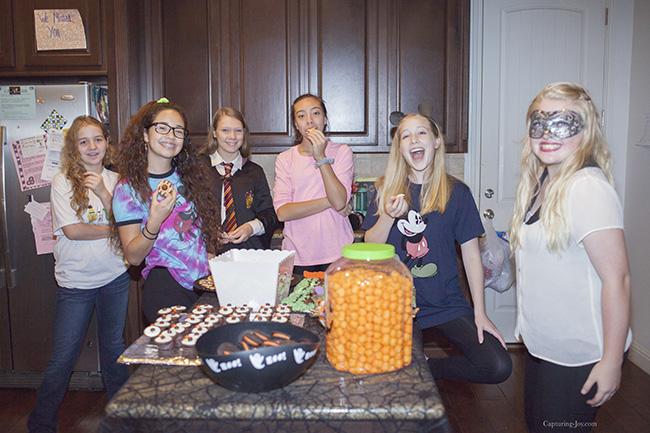 Teen Halloween Party Ideas - Capturing Joy with Kristen Duke