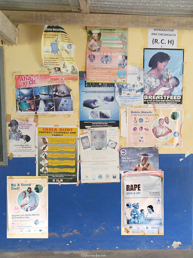 hospital signs in Ghana