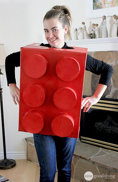 easy lego costume