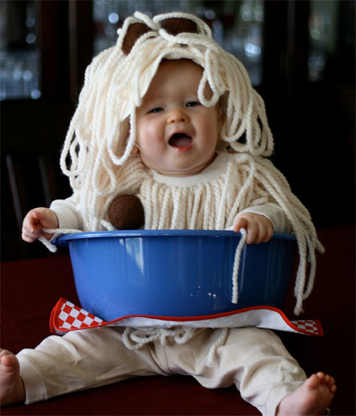 spaghetti costume for baby