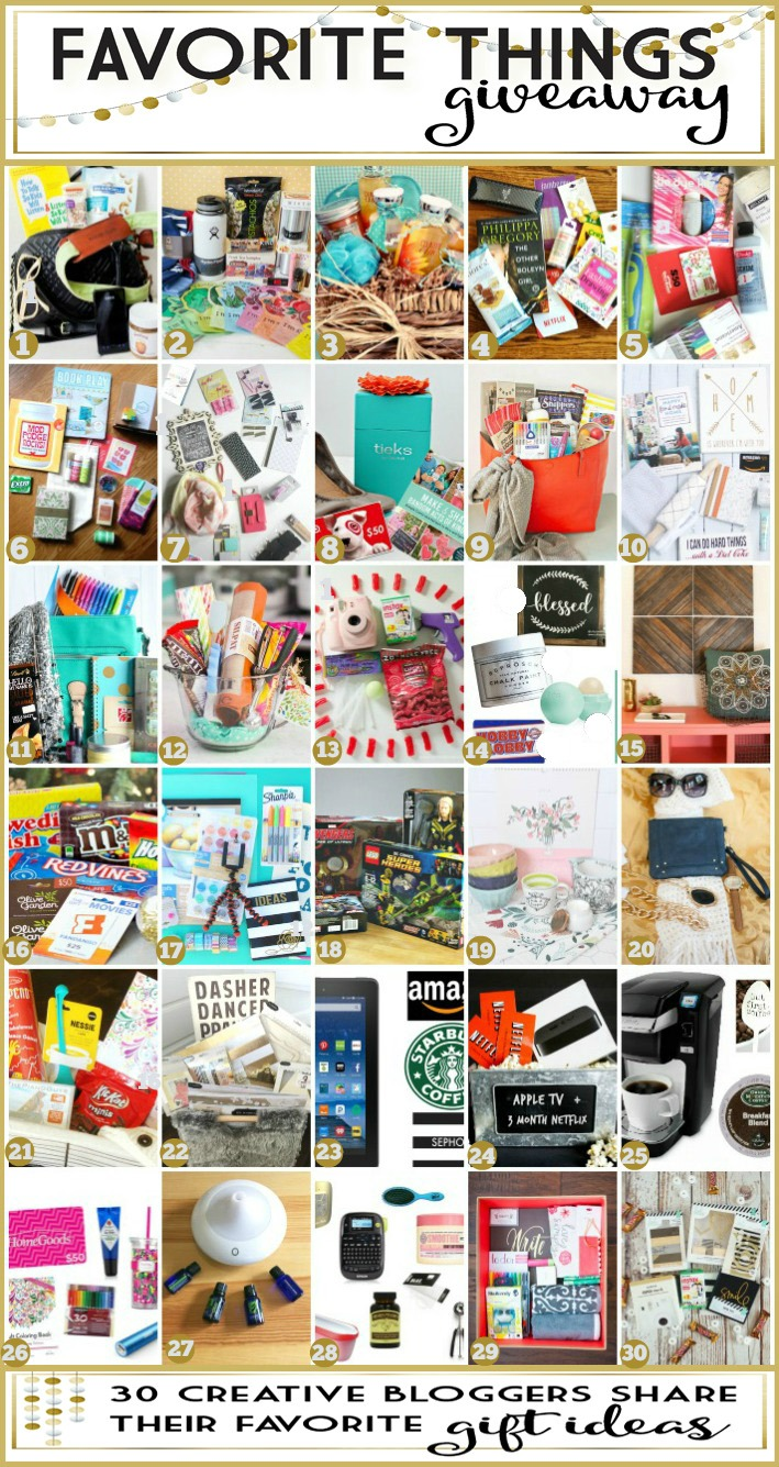 You can be the owner of 30 amazing gift baskets! Perfect for Christmas gifts this holiday season!