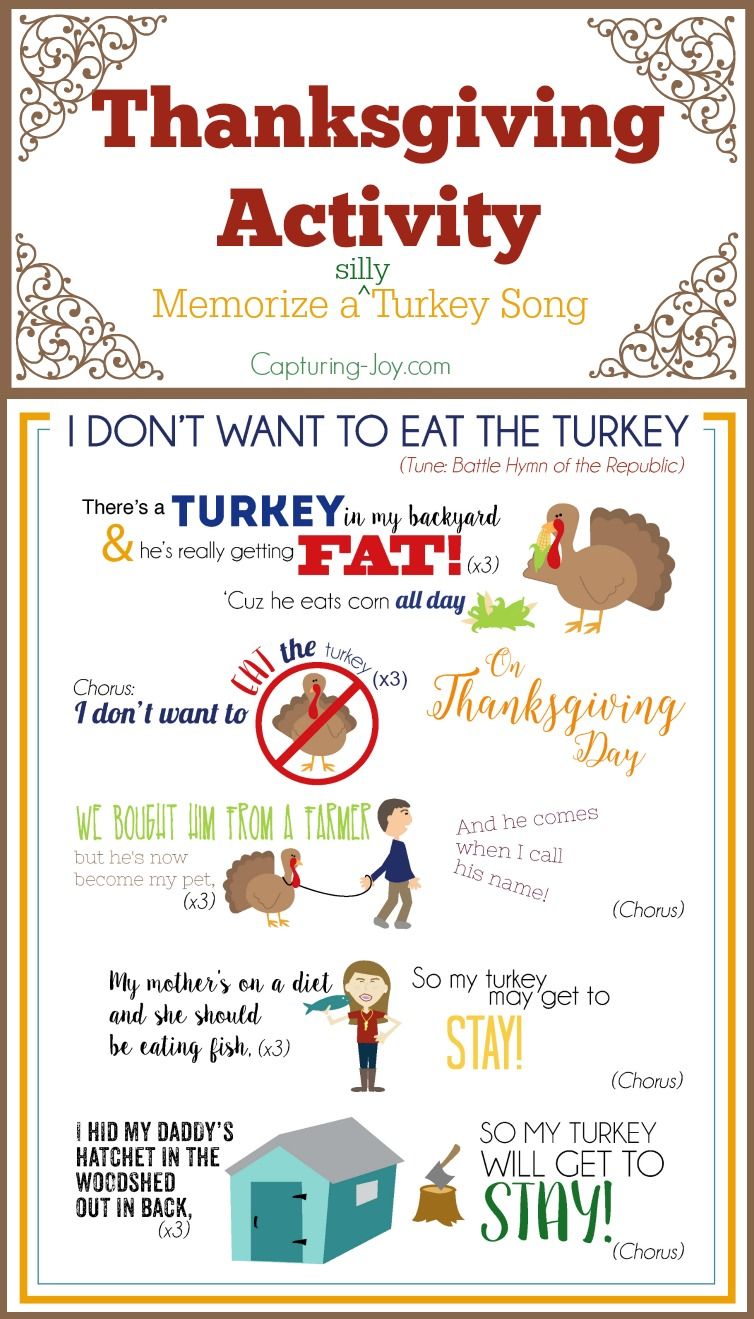 Thanksgiving Song