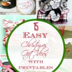 15 EASY Christmas Gift Ideas with Pritnables on Capturing-Joy.com