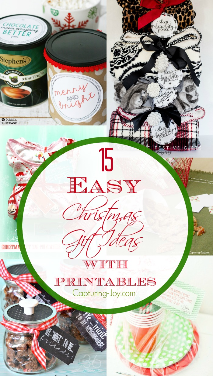 15 EASY Christmas Gift Ideas