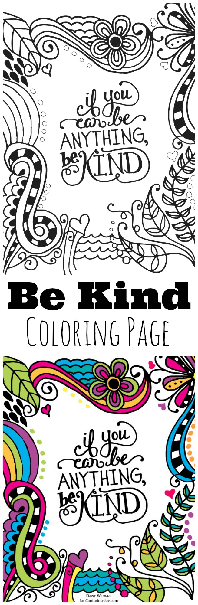 Be-Kind-Kids-Coloring-Page