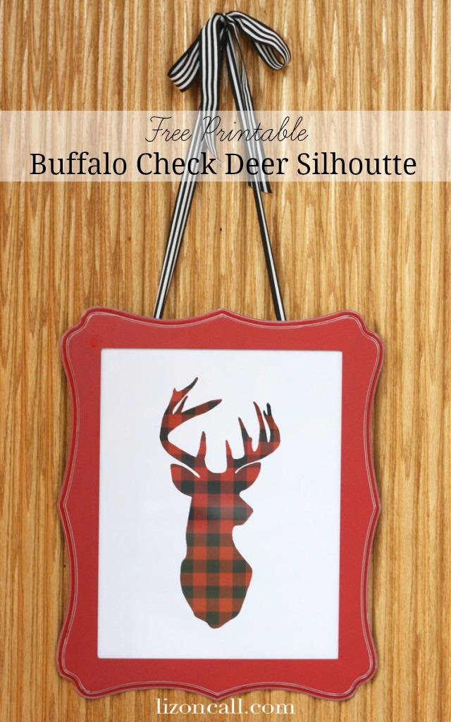 Deer-Silhouette-printable