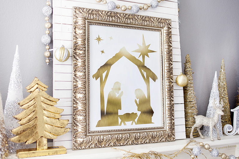 Nativity Manger Art
