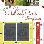 Unique Holiday Card Templates for Free. Choose from 4 designs to customize your Christmas card